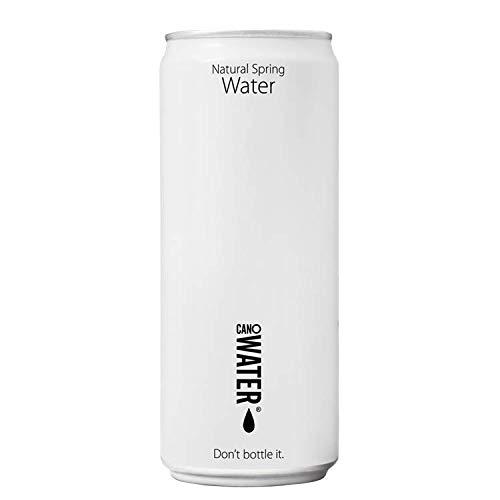 CanO Water Still, Dosen, Mineralwasser in wieder verschließbaren, 24er Pack, EINWEG (24 x 330 ml)