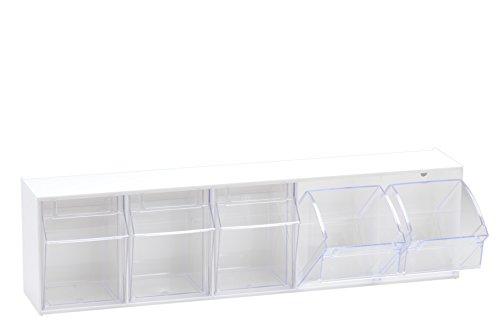 hünersdorff 460122 MultiStore-Lagersystem, weiß, 5