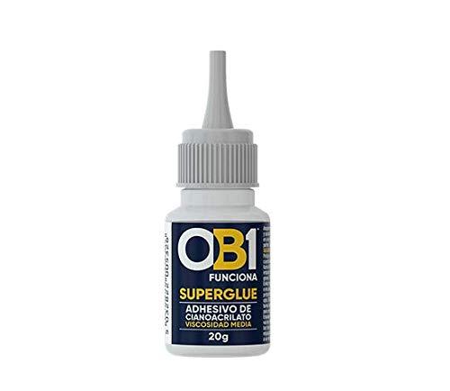 OB1 Adhesivo De Cianoacrilato De Viscosidad Media De 20 Gr