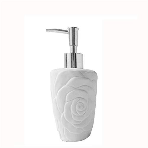 Dispensador de jabón para baño Botella de jabón de mano de estilo nórdico Capacidad grande Champú para el hogar y botella de gel de ducha Adecuado para cocina y baño Dispensador de bomba de jabón líqu