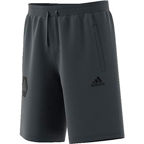 adidas Tan Logo Sweatshort Pantalón Corto, Hombre, DGH Solid Grey, XS