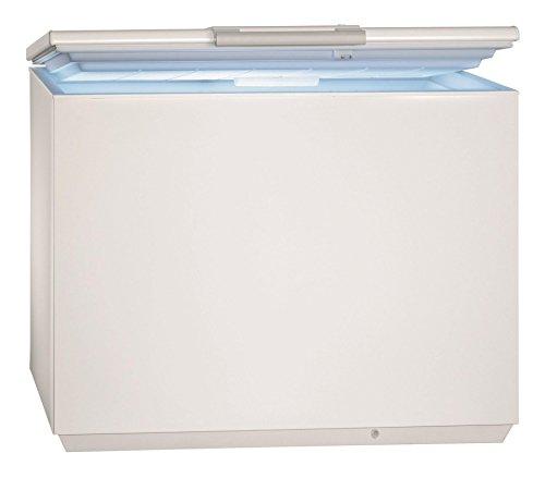 AEG AHB72221LW Gefriertruhe / 216 L / LowFrost – weniger Eisbildung / Quick-Türöffnung / Temperaturalarm / Rollen