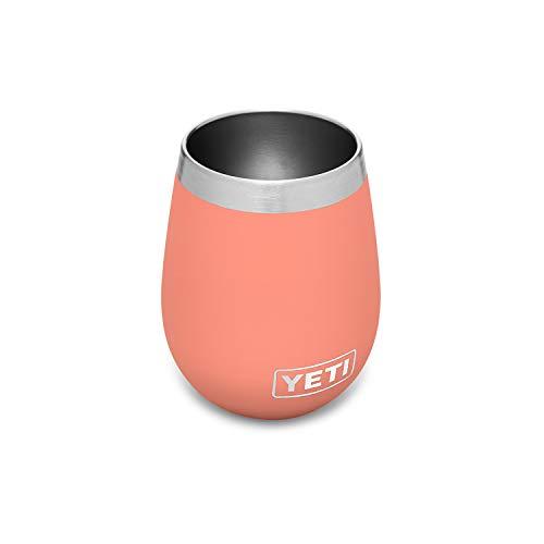 yeti wine tumbler with lids YETI Rambler 10 oz Wine Tumbler, Vacuum Insulated, Stainless Steel, Coral