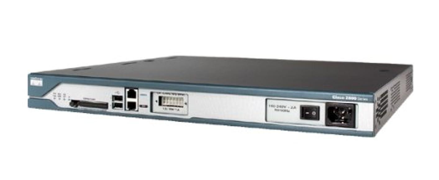 広げる集団スワップCISCO Cisco 2811 サービス統合型ルータ インライン パワー対応 CISCO2811-AC-IP