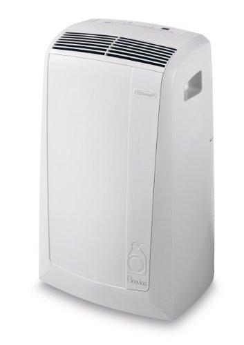 De'Longhi PAC N76 Air-to-air Climatizzatore Portatile Pinguino, 60 dB, 2100 W, 8200 BTU/h, Bianco
