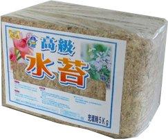 あかぎ園芸 南米産 高級 水苔(無地) 5kg