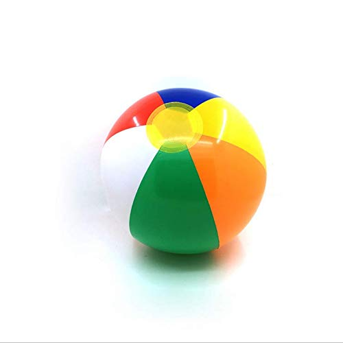 Hotaden 1 Globo Inflable Pc Piscina Juegos De Fiestas Agua Playa Mar Bola Creativo Colorido Juguete para Niños Diversión