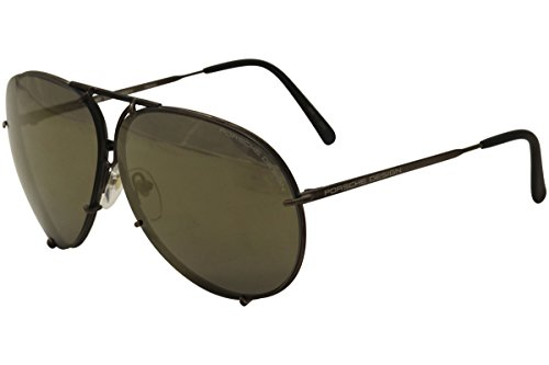 Porsche Design Occhiali da Sole P8478 MATTE BROWN/GOLD BRONZE GREY LENSES 60/10/135 unisex