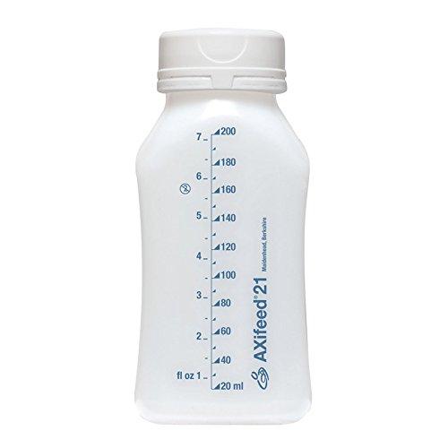 Orthofix AXifeed EBM Flasche für Muttermilch, zum Aufbewahren, 200ml, 10Stück