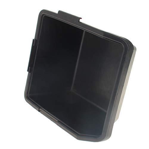 Kunststoffstapelteile Behälter Schwarz 105 mmx110mmx55mm (LängexBreitexInner Höhe) Antistatische Aufhängebox für Arbeitszubehör 1St.