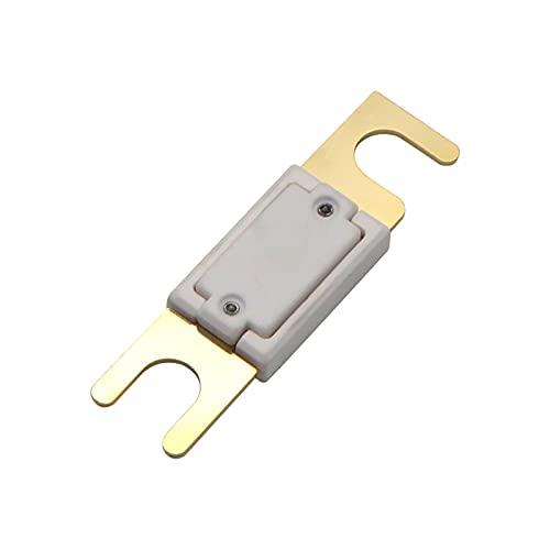 Festnight ANL-Sicherung 400 Ampere DC 32V M10 Vergoldet für Car-Au-dio-Verstärker-Wechselrichter mit hoher Ampere