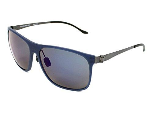 Mercedes-Benz Sonnenbrille M3016 Gafas de sol, Azul (Blau), 59.0 para Hombre