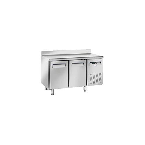Table Réfrigérée Négative 2 Portes avec Dosseret - Profondeur 600 - Cool Head - 600