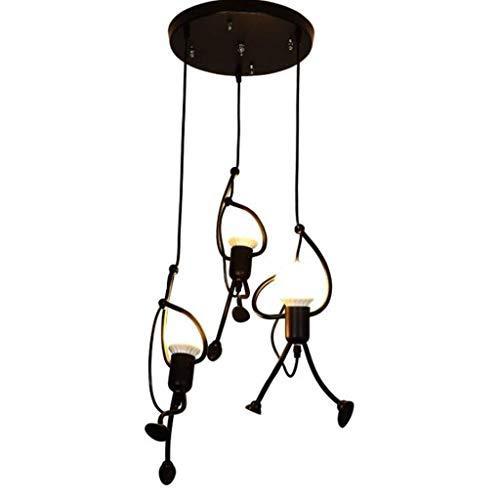 Hmvlw Kreative minimalistische Moderne Kronleuchter Persönlichkeit Wohnzimmer Bar Restaurant Schlafzimmer Stilvolle Weinglas Dekoration Lampe (Color : B)