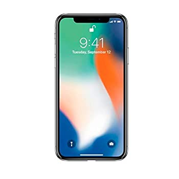 Apple iPhone X 64GB Silver - For GSM  Renewed