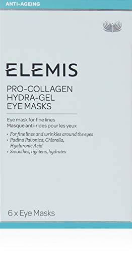 ELEMIS Pro-Collagen Hydra-Gel Eye Masks, Eye Masks for Fine Lines, 6 Count