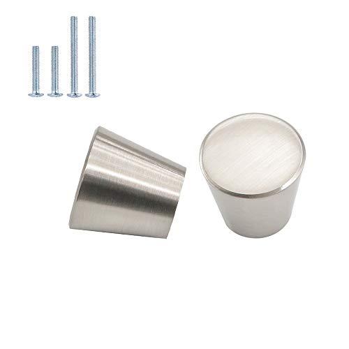 10 pomelli rotondi per cassetti, in argento moderno, monoforo monoforo, per armadi, porte, porte, porte, armadi, decorazioni, colore: oro