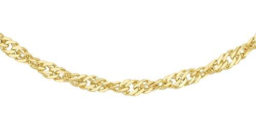 Collar/cadena para hombre Carissima Gold con oro de 18k (750)