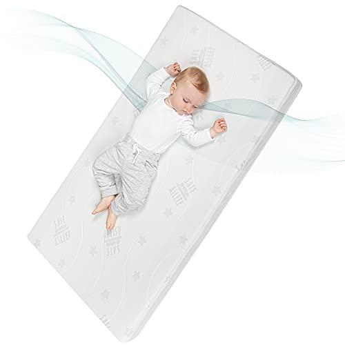 Roba 213072WE Matelas pour bébé Blanc