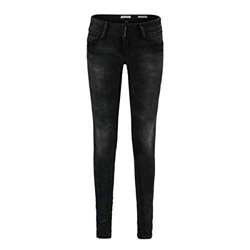 Hailys Camilla Frauen Jeans schwarz S 70% Baumwolle, 28% Polyester, 2% Elasthan Basics, Streetwear