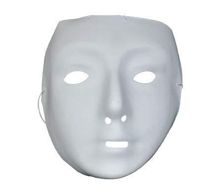 Masque blanc - Taille Unique