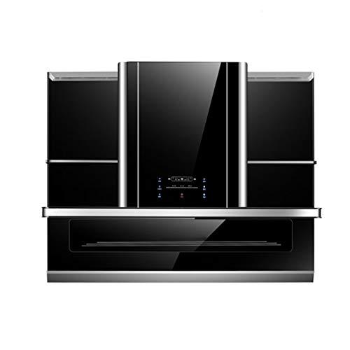 90 Cm - Afzuigkap Voor Huishoudelijk Gebruik -, Afzuigkap Voor Keuken, Kast, Decoratieve Afzuigkap, Touchscreen/Somatosensorische/Automatische Reiniging