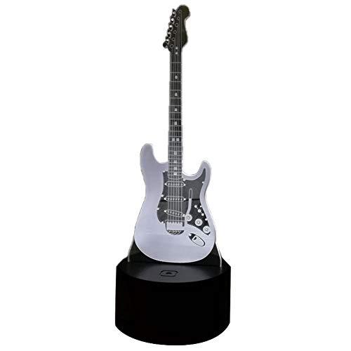 3D noche luz ilusión lámpara luces LED guitarra eléctrica 7 colores Touch...