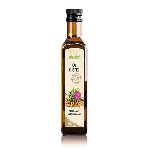 Distelöl Kaltgepresst - 100% rein - 250ml - Vegan