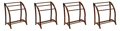 Find Discount Winsome Wood Blanket Rack, Antique Walnut (Pack of 4)