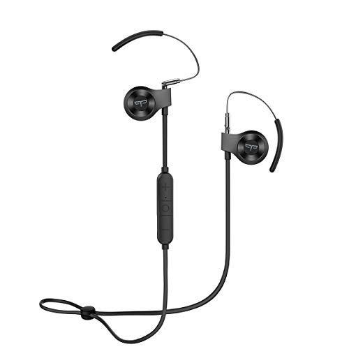Origem Auricolari Bluetooth, Cuffie Bluetooth 5.0 In Ear con HDR Audio 40 Minuti di Ricarica Veloce IPX5 Impermeabili Sicura per Correre, Ciclismo, Lavoro, Giochi, Palestra, Viaggi (Nero)