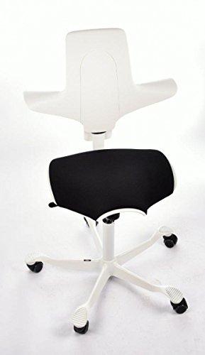 HAG Capisco Puls Bürostuhl Modell 8020 Weiß Sonderpreis Sondermodell