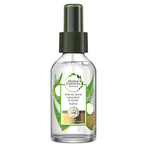 Herbal Essences Potent Aloe and Coconut Oil Blend Moisturising Treatment For Dry Hair, 100ml