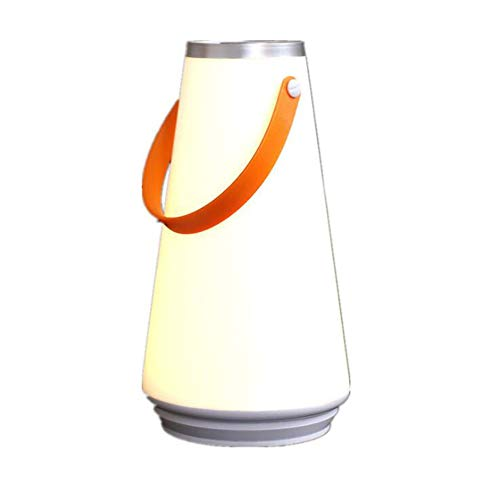 XSYL Creatief nachtlampje, led-tafellamp, dimbare touch-sensor, warme zachte outdoor camping, lantaarn, hangen, USB-oplaadbare lamp