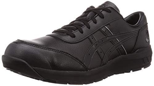 [アシックス] ワーキング 安全靴/作業靴 ウィンジョブ CP700 JSAA A種先芯 耐滑ソール 天然皮革 fuzeGEL搭載 メンズ ブラック/ブラック 23.0
