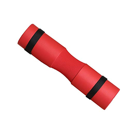 Foam Barbell Pad Cover Hals Schulterschutz Passend Für Wasserdicht Gewichtheben Gepolstert Langhantel Nackenpolster,Red