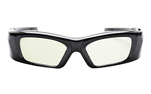 Hi-SHOCK High Diamond 3D Brille nur für 3D JVC Projektoren - Komp. zu PK-AG3     PK-EM2 Emitter [Shutterbrille   120 Hz   Hochleistungsakku   39g   FHD3D RF   90° horizontal polarisiert]