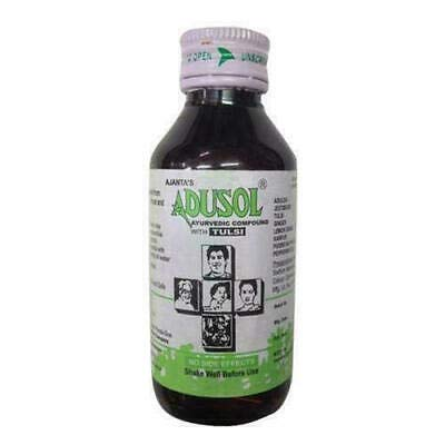 Adusol Ayurvedic Cough and Cold Syrup 100ml