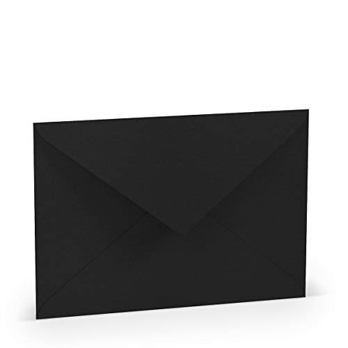 Rössler Paperado Pack 5Briefumschlag DIN C5m. Sf, schwarz, Hersteller: Rössler