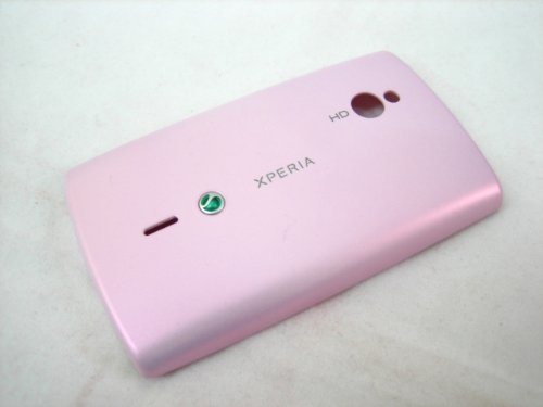 Sony Ericsson XPERIA Mini Pro SK17i SK17 ~ Pink Back Battery Cover Door Case Frame Housing Fascia Plate Panel~ Mobile Phone Repair Parts Replacement