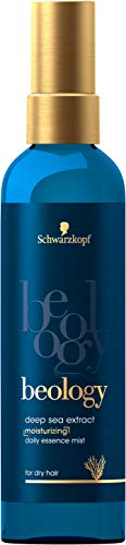 Schwarzkopf Beology, essenza spray idratante per capelli secchi, con estratto di mare profondo, confezione da 1 (1 x 150 ml)