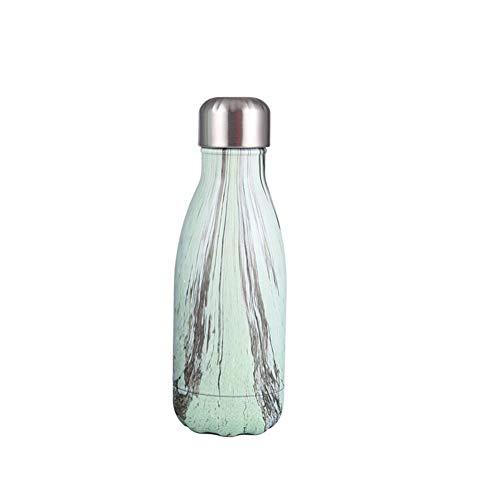 Botella Acero Inoxidable NiñOs Resistente Al Calor Botella Agua Deporte Botellas De Agua Deportivas para Deportes Y Gimnasio c,260ml