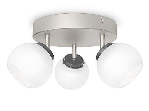 Philips 533231716 Balla Luminaire d'Intérieur Spot LED Métal Chrome 4 W