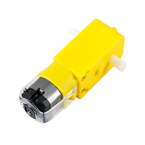 liutao Electric Motor Double Shaft DC Gear Motor DC 3V-12V 1:48 Dual Shaft DC Motor Electric Motor for Arduino Robot Smart Car Toys DIY Model Electric Parts