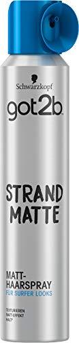 Schwarzkopf got2b Haarspray strand matte, 1er Pack (1 x 200 ml)
