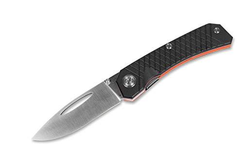 Real Steel Unisex– Erwachsene Akuma Black Taschenmesser, Schwarz, 21.7