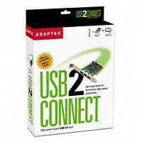 Adaptec AUA-3100LP Kit EFIGS rusp Controlador PCI - 3 x USB-