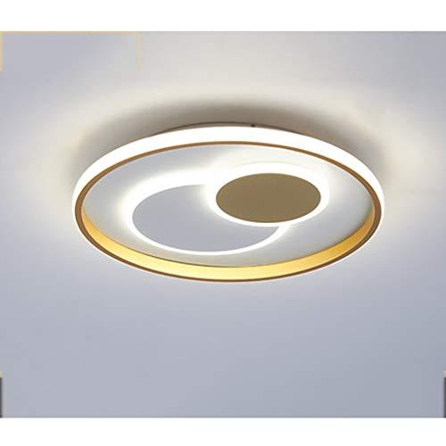 Xu Yuan Jia-Shop Lámpara de Techo LED Luz del Accesorio del Techo, Regulable, for la Mesa de Comedor Dormitorio Pasillo Puerta de Entrada de la Sala Foyer 58W Ronda luz de Techo Moderna luz de Techo