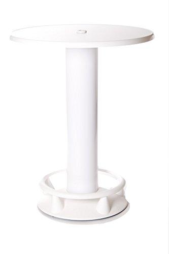 SEVERIN Stehtisch Quick-Table weiß, Stehbiertisch, Bistrotisch