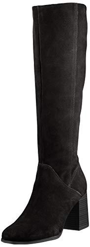 Tamaris Damen 1-1-25513-25 Kniehohe Stiefel, schwarz, 37 EU