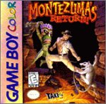 Montezuma's Return - Game Boy